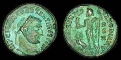 Ancient Coins - Constantine - AE reduced Follis - IOVI CONSERVATORI AVGG - Alexandria