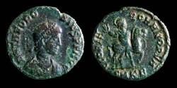 Ancient Coins - Theodosius I  Ae  GLORIA ROMANORVM  Horse