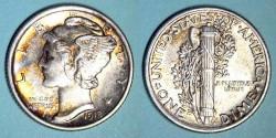 Us Coins - USA - Dime 1918 -