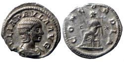 Ancient Coins - Julia Paula - Denariue - CONCORDIA - Rome - RIC.211