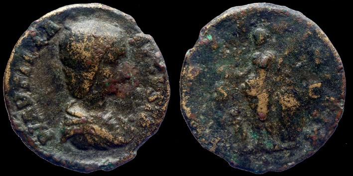 Ancient Coins - PLAUTILLA - AE AS - gallic cast  - VENVS VICTRIX