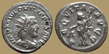 Ancient Coins - Philip I - Antoninianus - AEQVITAS AVGG - RIC.27