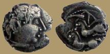 Ancient Coins - GAUL - Uncertain Bituriges Cubi - Carnutes - Pictons  - Drachme au deux chevaux à gauche - very rare