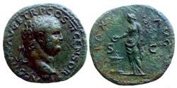 Ancient Coins - Titus - AE As - PAX AVG - Lyon - RIC.1261 - high relief
