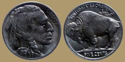 Us Coins - USA - Buffalo 5 cents 1915 - UNC