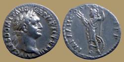Ancient Coins - Domitian - AR Denarius -  IMP XXII COS VI CENS P P - Minerva - RIC.173