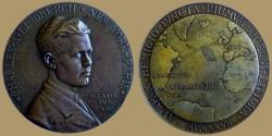 World Coins - Charles Augustus Lindbergh Transatlantic Flight Medal, 1927
