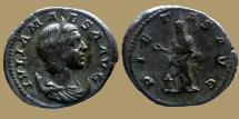 Ancient Coins - Julia Maesa - AR Antoninianus - PIETAS AVG - RIC.264 scarce