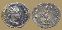 Ancient Coins - AEMILIAN - AR Antoninianus - MARTI PROPVGT