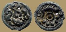 Ancient Coins - Celtic GAUL, Suessiones - Potin au sanglier - nice