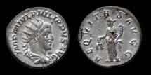 Ancient Coins - Philip I - Antoninianus - AEQVITAS AVGG