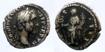 Ancient Coins - Antoninius Pius - AR denar