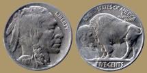 Us Coins - USA - 5 cents 1917 - Buffalo