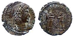 Ancient Coins - Constantius II - Ae 3/4 - VICTORIAE DD AVGG Q NN - Aquileia - RIC.86