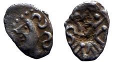 Ancient Coins - Celtic Gaul - Sequani - Obol MASO - scarce!