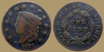 Us Coins - USA - one cent 1823 - scarce