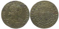 World Coins - FRANCE - AE Jeton - PONTS ET CHAUSSEES DE FRANCE 1629 - NOT in Feuardent - RR