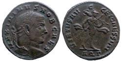 Ancient Coins - Maximinus II Daia - AE follis - VIRTVS AVGG ET CAESS NN - Aquileia - Ric.70b