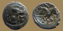 GAUL - Ambiani trib - Bronze au sanglier et cheval -