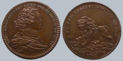 World Coins - FRANCE - AE Jeton - Louis Charles de Bourbon - ARTILLERIE 1742 - very scarce - Quality