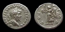 Ancient Coins - Septimius Severus - Denarius - COS III PP - Victoria - Laodiceia