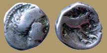 CISALPINE GAUL. INSUBRES - 2nd century BC -. DRACHM  - imitating Massalia. RARE
