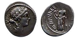 Ancient Coins - Roman republic - Acilius Glabrio - Denar - nice