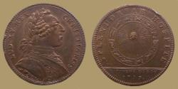 World Coins - FRANCE - AE jeton - Louis XV - Batiments du Roy - 12 Zodiac signs - 1753 - F.3155v