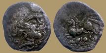Ancient Coins - Celtic Gaul - Aulerques Diablinthes - Statere - LT.6524v