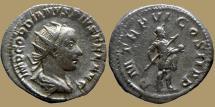 Ancient Coins - Gordian III - AR Antoninianus - PMTRP VI COS II PP - Rome - RIC.94