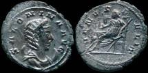Ancient Coins - Salonina - AR Antoninianus - VENVS FELIX