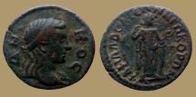 Ancient Coins - LYDIA, Philadelphia - Pseudo-autonomous issue - Circa 3rd Century AD. Æ 23 - scarce