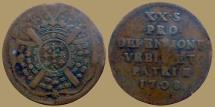 World Coins - FRANCE - LIlle - 20 sols 1708 - Siege coinage - KM.7