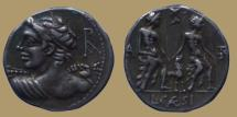 Ancient Coins - Lucius Caesius - AR Denarius - 112-111 BC - Rome mint - Cr.298/1 - Quality