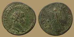 Ancient Coins - Postumus - AE Double sestertius - VICTORIA AVG - Trier - RIC.169 v - quality and bold bust