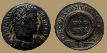 Ancient Coins - Constantine I - AE reduced Follis - DN CONSTANTINI MAX AVG VOT XXX - Rome mint - RIC.320 r5