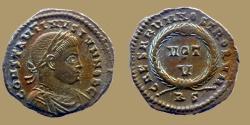 Ancient Coins - CONSTANTINE II Caes - AE reduced follis - CAESARVM NOSTRORVM VOT V - Rome mint -  RIC.236