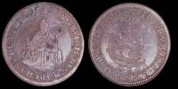 Ancient Coins - French Token - Marchands de Vin (Wine Dealer) 1691 - Saint Nicolas