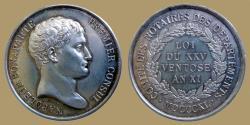 World Coins - France - Notariat - AR jeton - NAPOLEON BONAPARTE PREMIER CONSUL