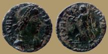 Ancient Coins - Valens - AE3 - SECVRITAS-REIPVBLICAE - Arles - RIC.17