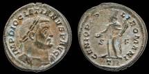 Ancient Coins - Diocletian  Follis GENIO POPVLI ROMANI