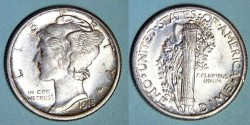 Us Coins - USA - Dime 1918 S