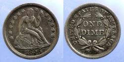 Us Coins - USA - Dime 1856