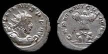 Ancient Coins - Gallienus AR Antoninianus  GERMANICVS MAX V