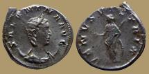 Ancient Coins - Salonina - AR Antoninianus - VENVS VICTRIX - Trier - RIC.68