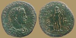 Ancient Coins - ELAGABALUS - AE Sestertius - INVICTVS SACERDOS AVG - Rare