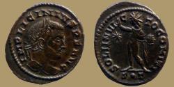 Ancient Coins - LICINIUS I - AE Follis - SOLI INVICTO COMITI - Ticinum - RIC.22 r4