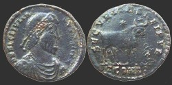 Ancient Coins - Julian II - AE1 - SECVRITAS REIPVB - Arles