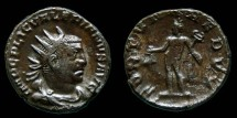Ancient Coins - Valerian I - Antoninianus - FORTVNA REDVX - Mercury - SCARCE