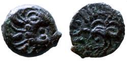 Ancient Coins - GAUL - Senones trib - Bronze YLLYCII - nice